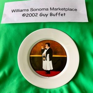Williams Sonoma Marketplace Dessert Plate
